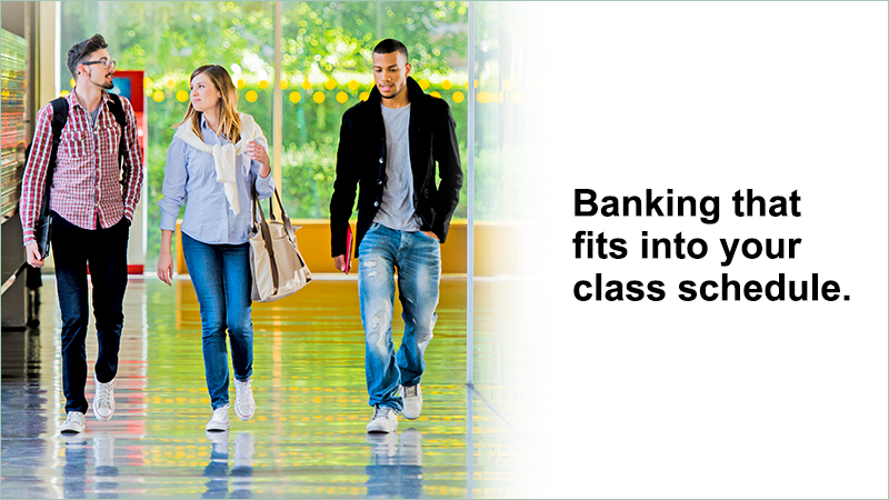 Everything student banking should be.