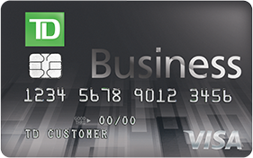 TD Business solutions credit card for small businesses
